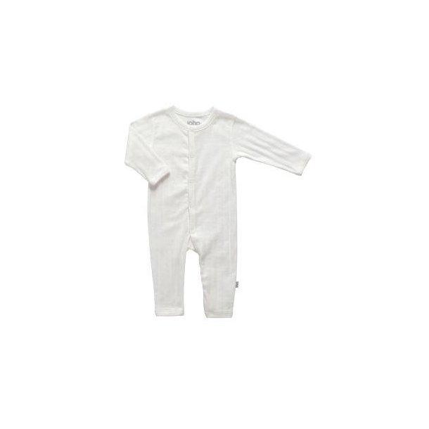 Bio Baby Strampler aus Off-white Baumwolle
