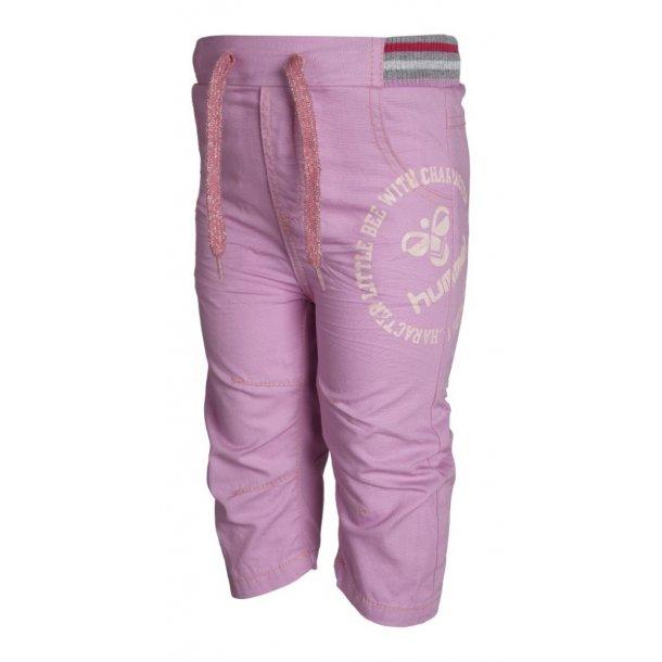Schicke rosa Leinen Hosen
