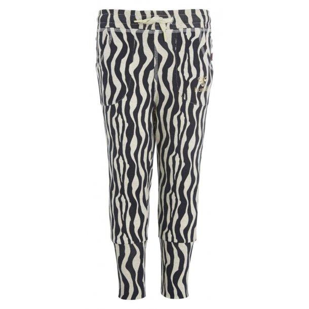 Hosen in Zebra Muster mit Gold