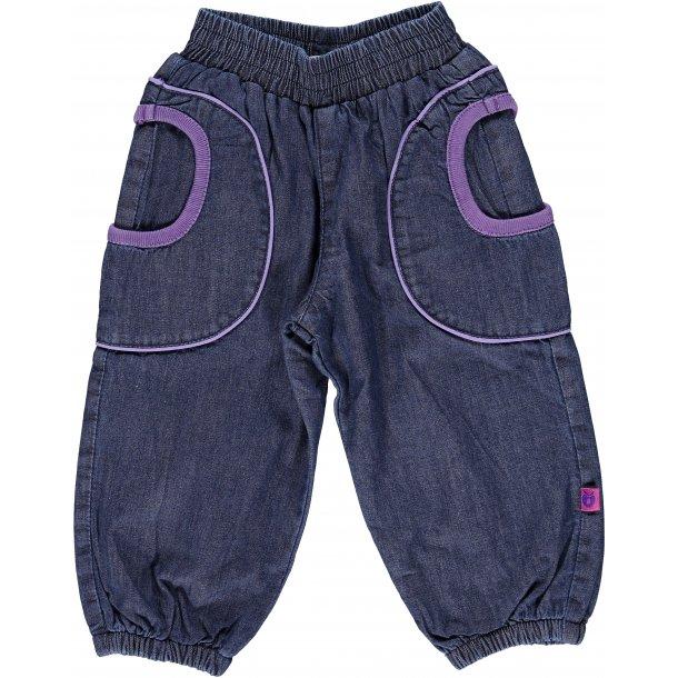 Schöne Denim Baggy Hosen