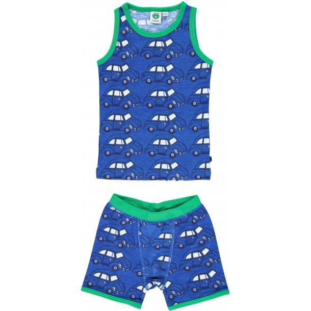 5403da71eb587a Unterwäsche in blau mit Autos, Wolle-Baumwolle - Alle Kinderkleidung -  IsaDisaKids