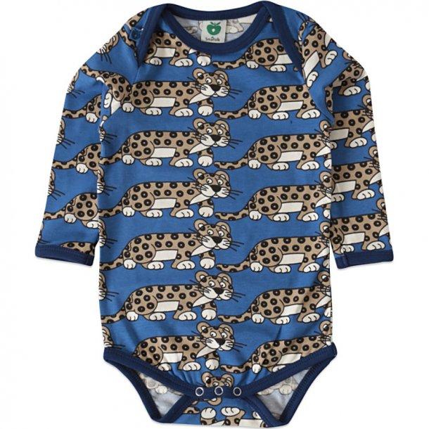 Body in blau mit Leoparden - von Smafolk
