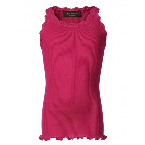 Pink Top in schöones Seide-Baumwolle - Von Rosemunde
