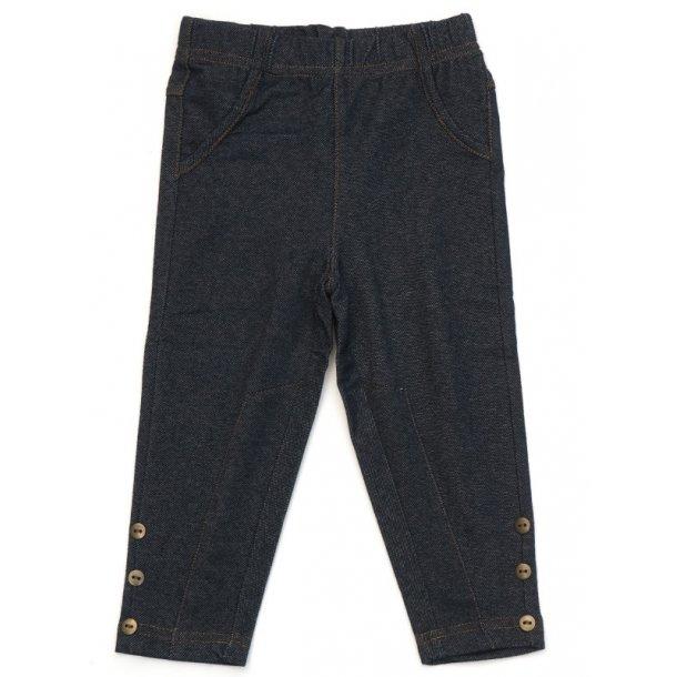 Trendy Leggings in dunkelblau