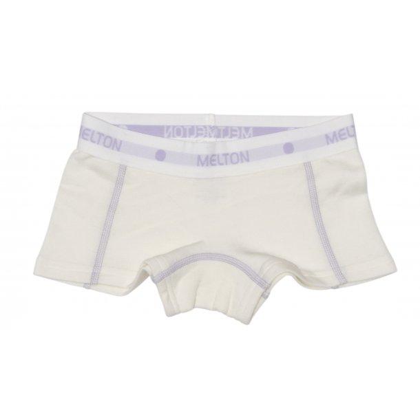 Unterhosen i weiss in Wolle