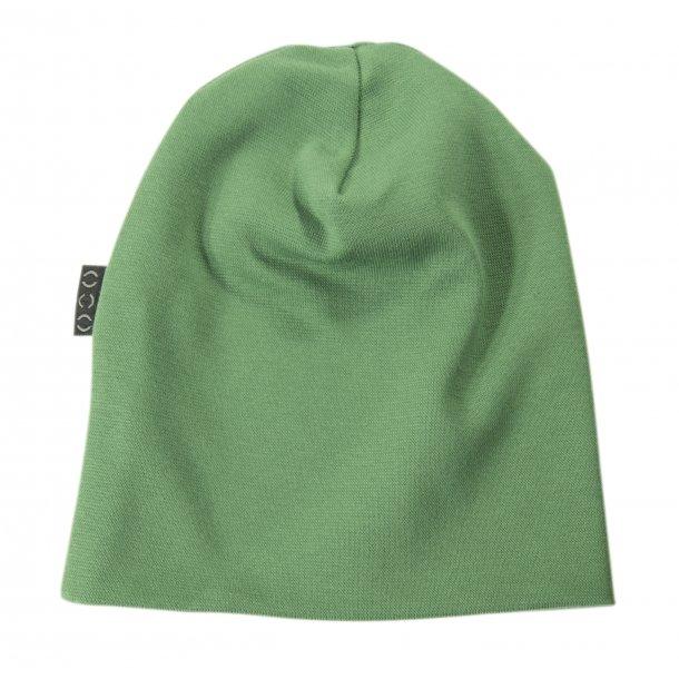 Mütze, dunkel grün Jersey
