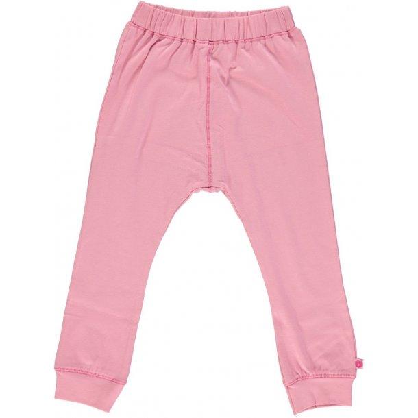 Smafolk - Mollige Jersey Hosen in Rosa