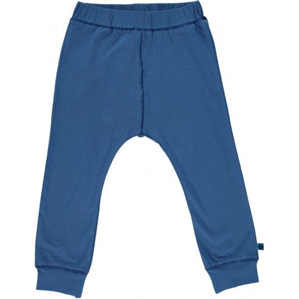 Smafolk - Mollige Jersey Hosen in blau