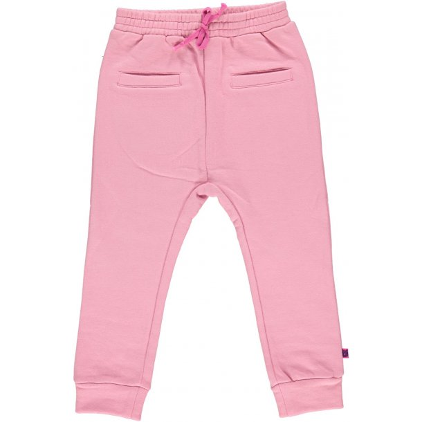 Baby Sweat Pants, Rosa - von Småfolk