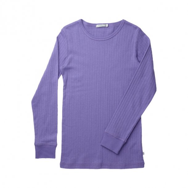 Basic-Shirt in Hell Lila - Von Minymo