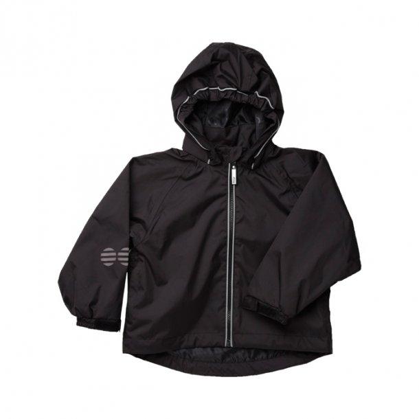 Schwarzer Regenjacke der Spitzenklasse