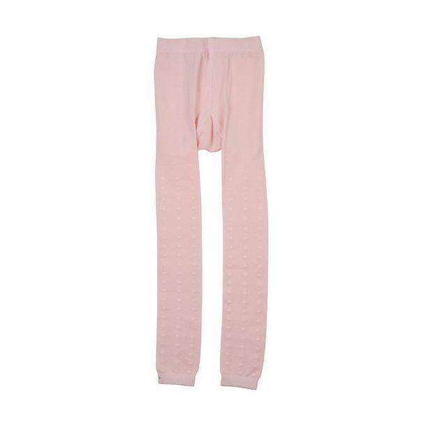 Rosa Leggings mit hell rosa Punkten