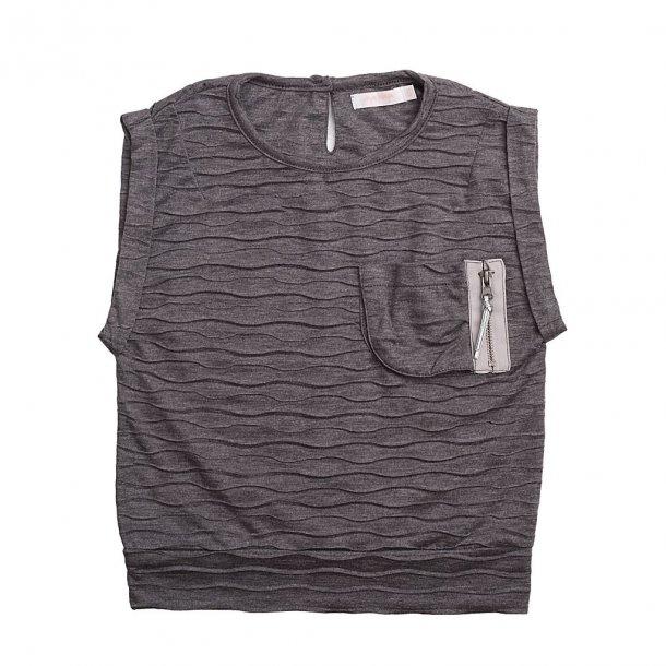 Schickes graues T-Shirt