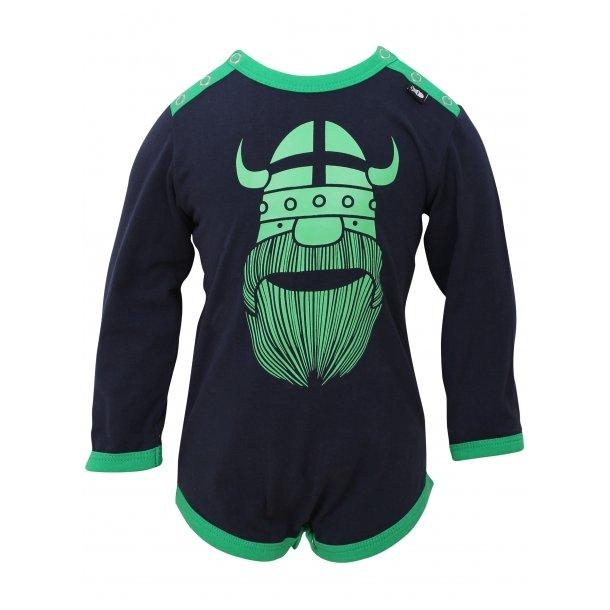 Body, navy mit green Erik