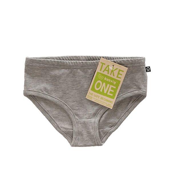 Grau-melierte One Bio Panties