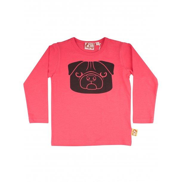 DYR Cph - Danefae - Schönes Pink Shirt mit Mops