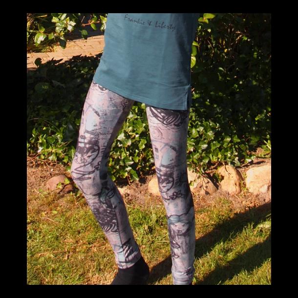 Tolle graue / bunte Leggings