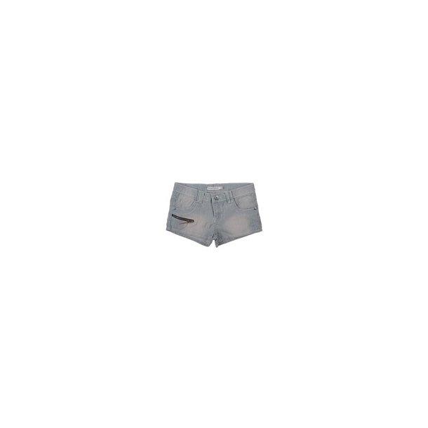 Cool gestreiften Jeans Shorts