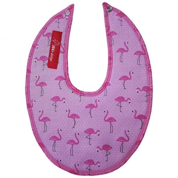 ZOO-design - Sabberlatz der nicht durchnässt wird, mit Flamingoen