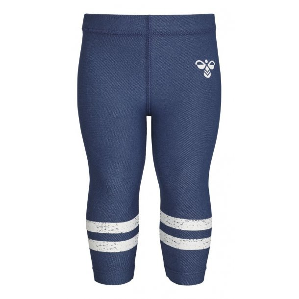 Hummel NANNA mini leggings in schön denimblau