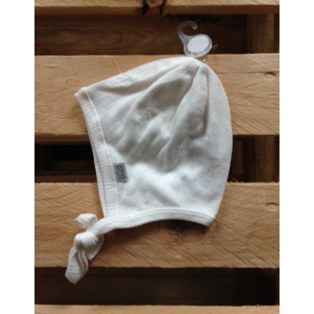 Bio Baby-Helmet aus off-white Baumwolle