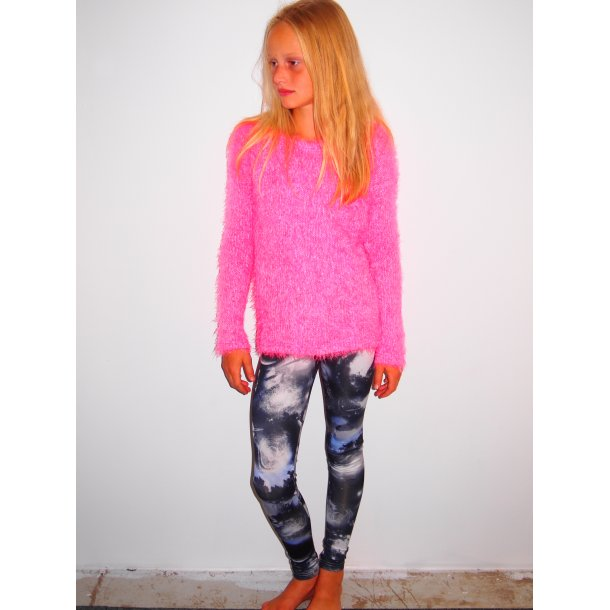 Cool Strick im Pink