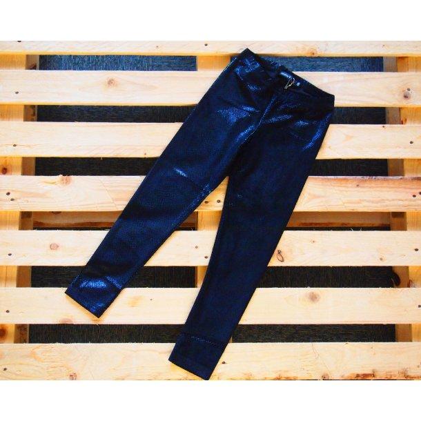 Coole schwarze Leggings mit Shiny look