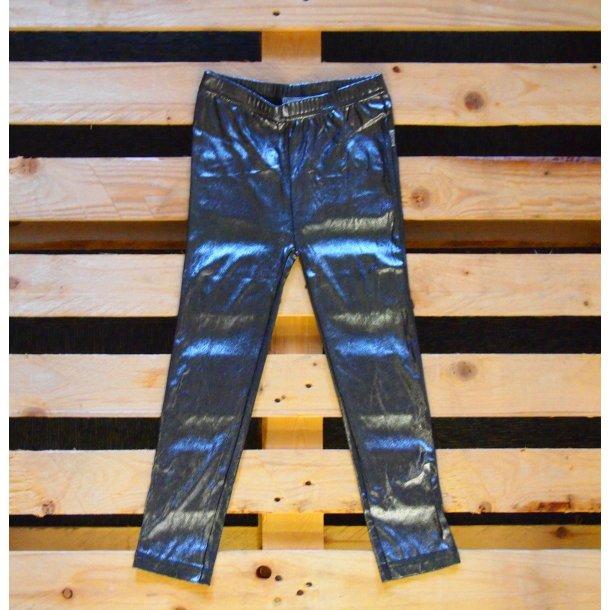 Silber/Schwarz Leggings