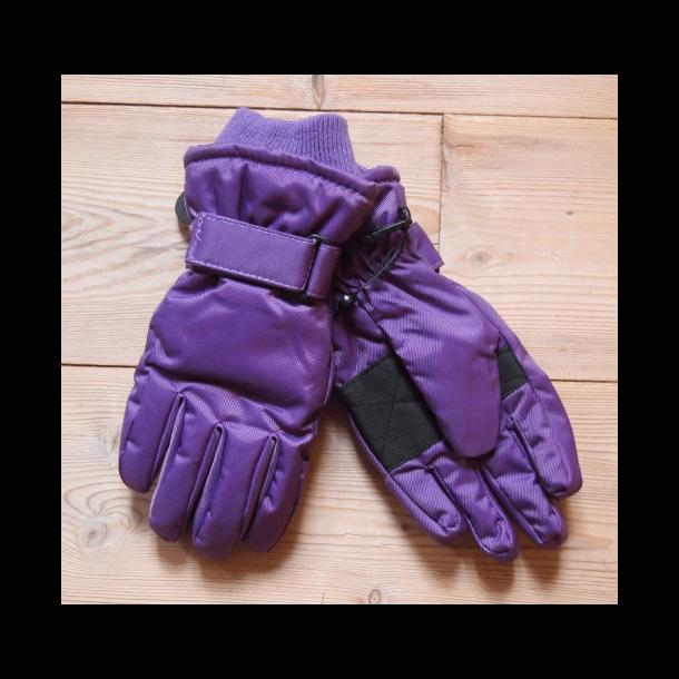 Handschuhe, lila
