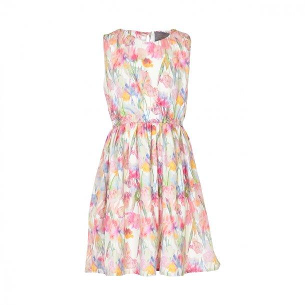 Creamie Bitten Kleid mit Blumen