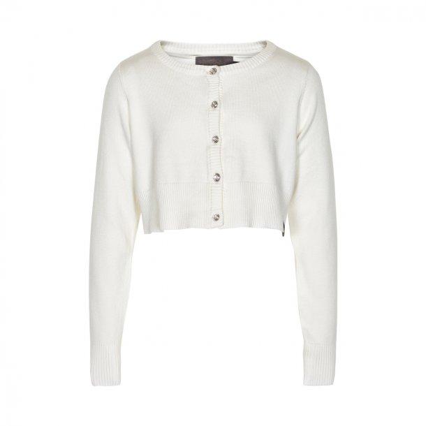 Creamie Mijanne Bolero - Weiß mit glitzernde Steine