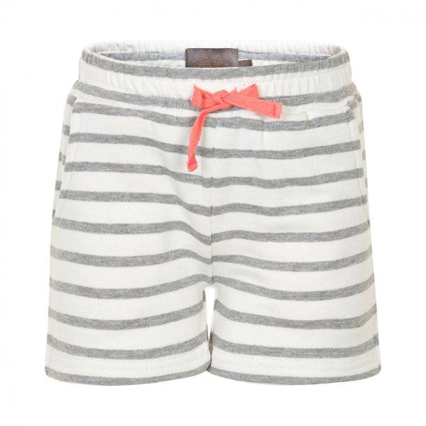 Creamie Cia shorts - Weiße mit graue Streifen