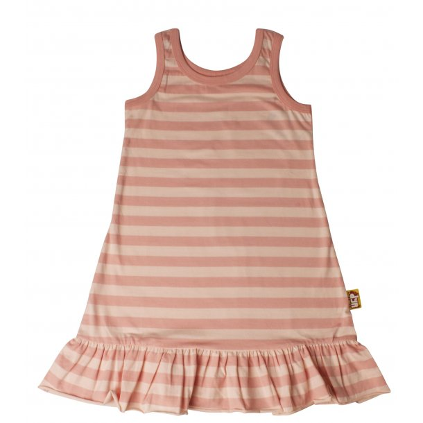 DYR CPH - Danefae Hooves Kleid in gestreiften Peach