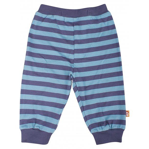 DYR CPH - Danefae Chatter Pants - Blau gestreiften Jersey Hosen