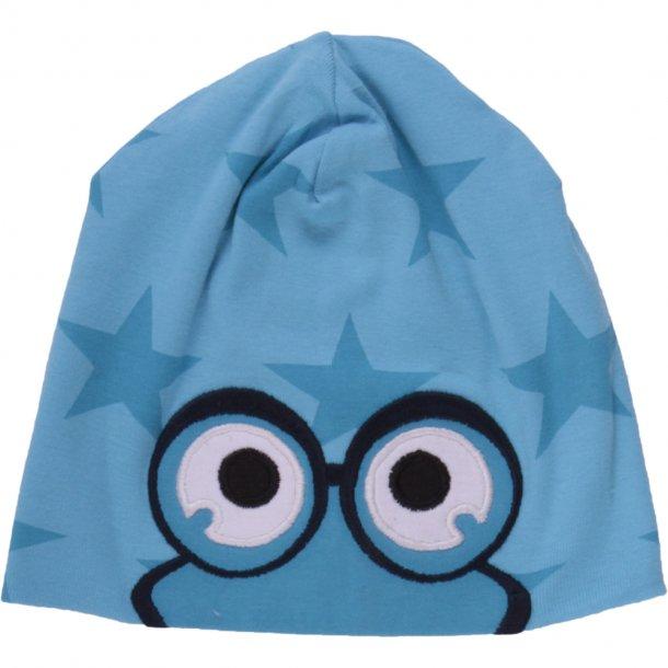 Fred's world - star peep bearnie - Mütze in Türkis mit Türkise Sternchen und die Augen von Fred
