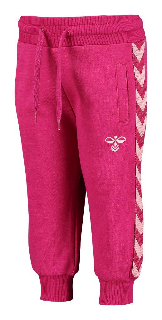 Hummel ALTEVANN Baby pants Mørk pink og rosa i ULD