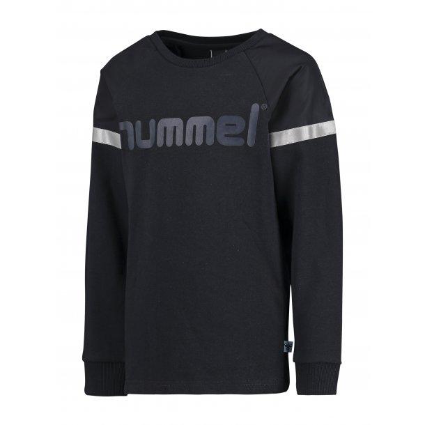 Hummel MIKK Sweatshirt - Navy mit Reflektor Details