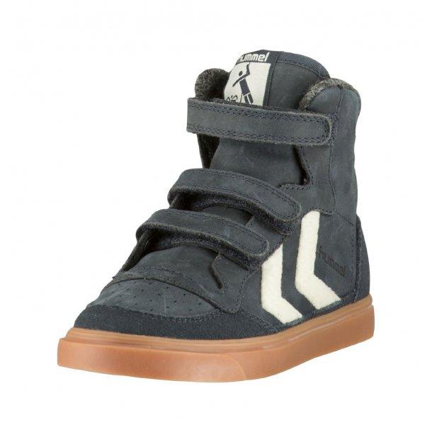 Hummel STADIL rubber Sneaker - Navy mit Weißen Winkeln