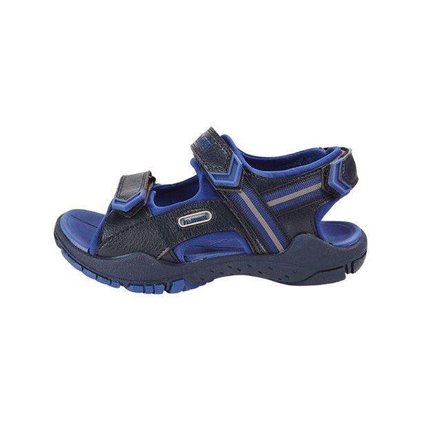 Hummel TREKKING Sandal - Blau mit schöne Hummel Details