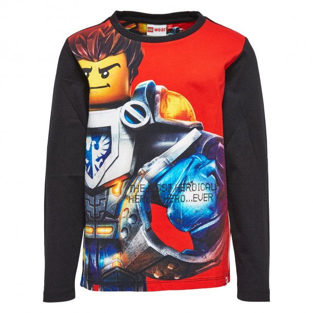LEGO Wear - TONY 807 - schwarz-rot Shirt mit STAR WARS