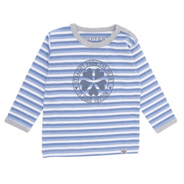 Papfar - Schöne Dan Shirt, blau-weiß gestreiften
