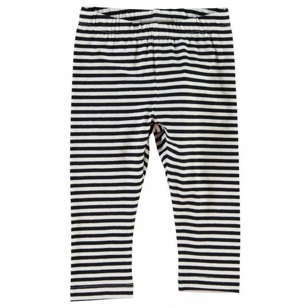 MINI NITLOPAN LEGGINGS - tolle schwarz-weiß gestreiften Leggings - von Name it