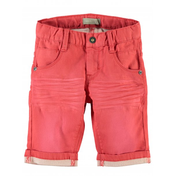 ACARLO KIDS DNM LONG SHORTS 215 - rote - von Name it