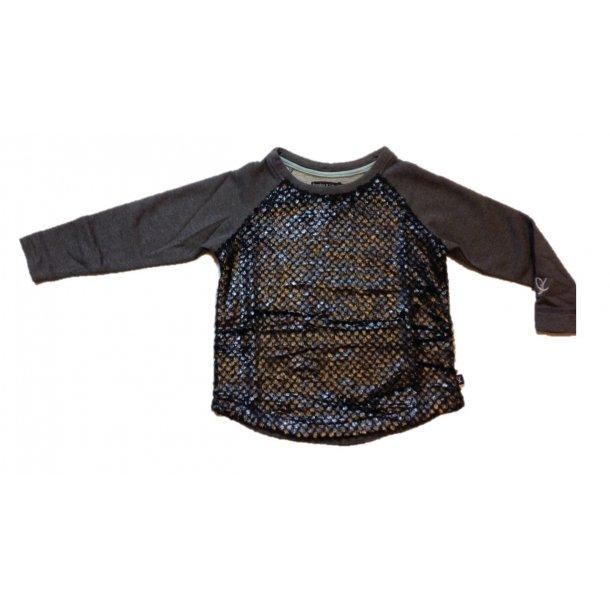 Schick Bluse in grau mit Glitter - Von Frankie & Liberty