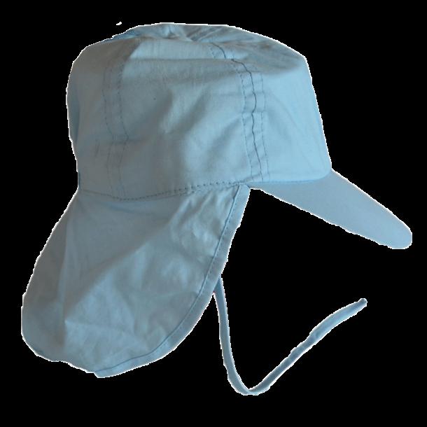 Minymo Sonnenschutzmütze in blau
